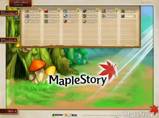 MapleStory Mesos – Maple in the Past