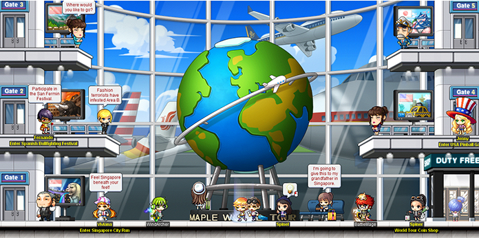 MapleStory Mesos – World Tour
